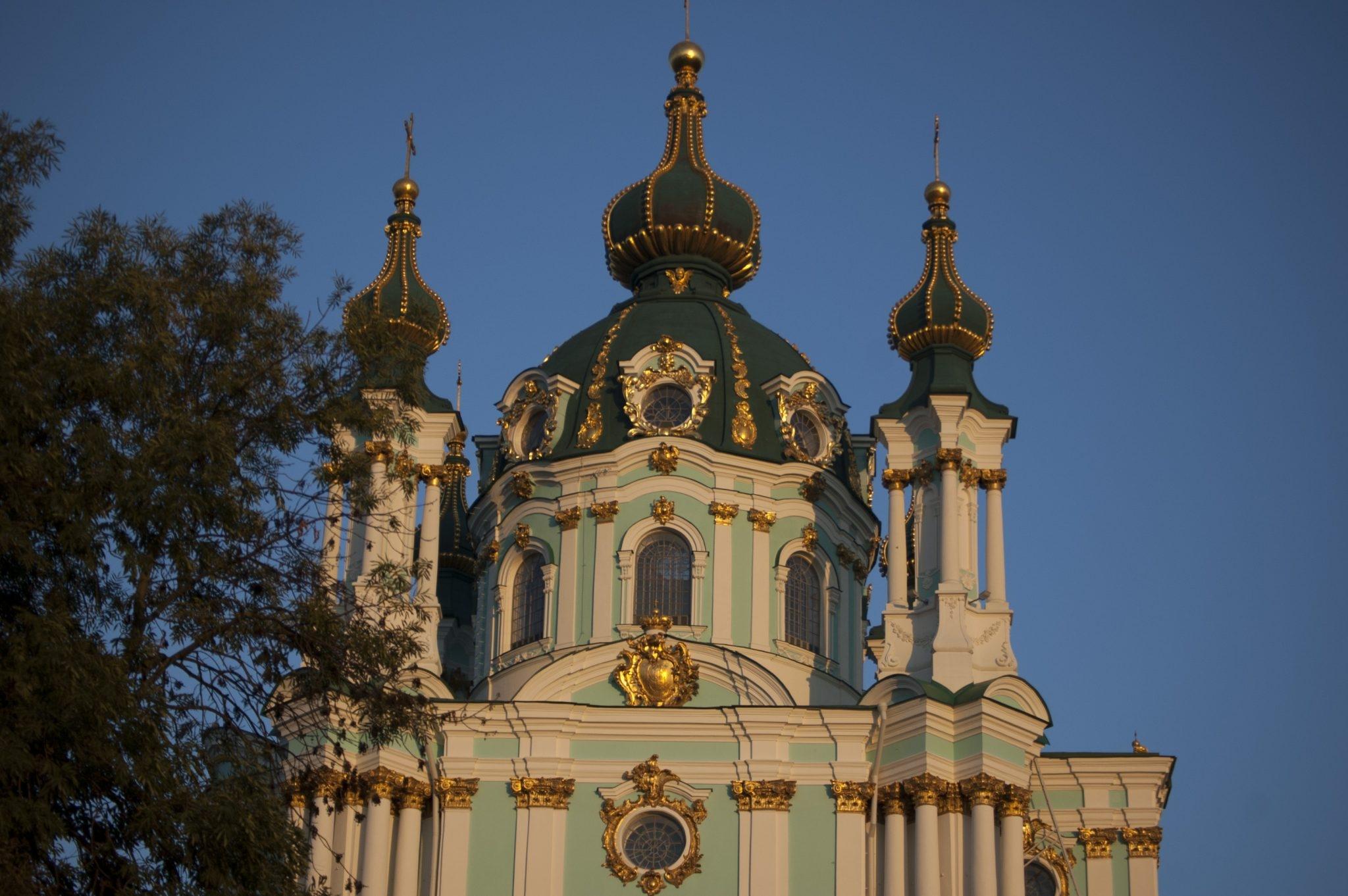 Cerkiew św. Andrzeja Kijów Ukraina