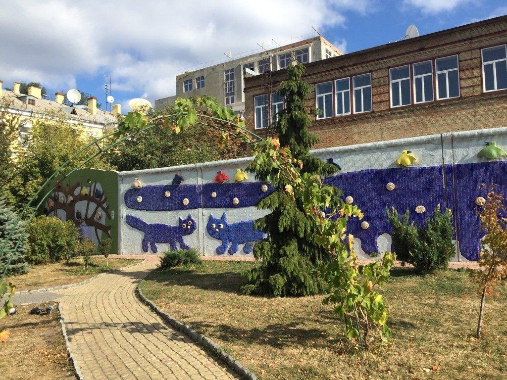 Aleja Pejażowa Kijów zwiedzanie atrakcje Ukraina