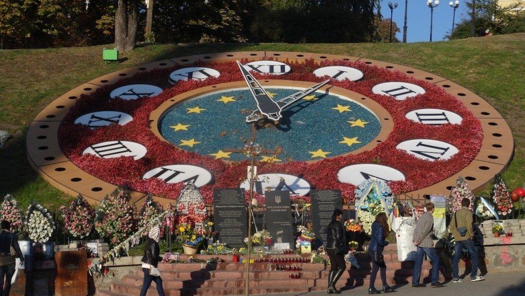 Majdan Kijów Ukraina atrakcje