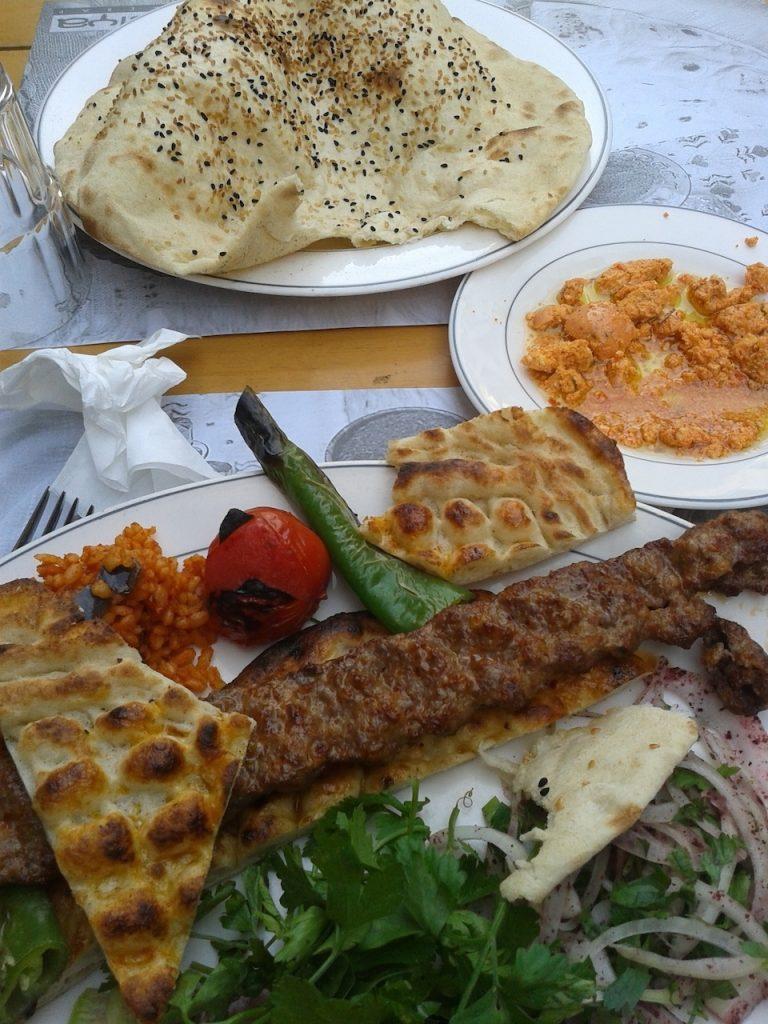 Turcja Stambuł zwiedzanie kebab