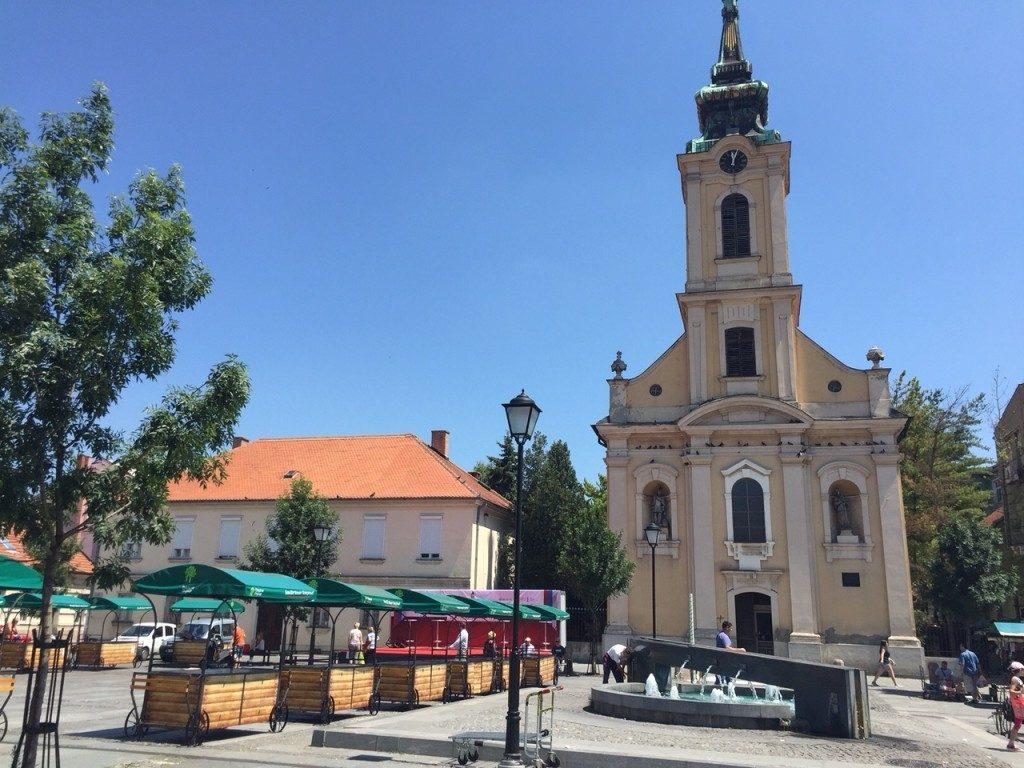 Belgrad Serbia zwiedzanie atrakcje