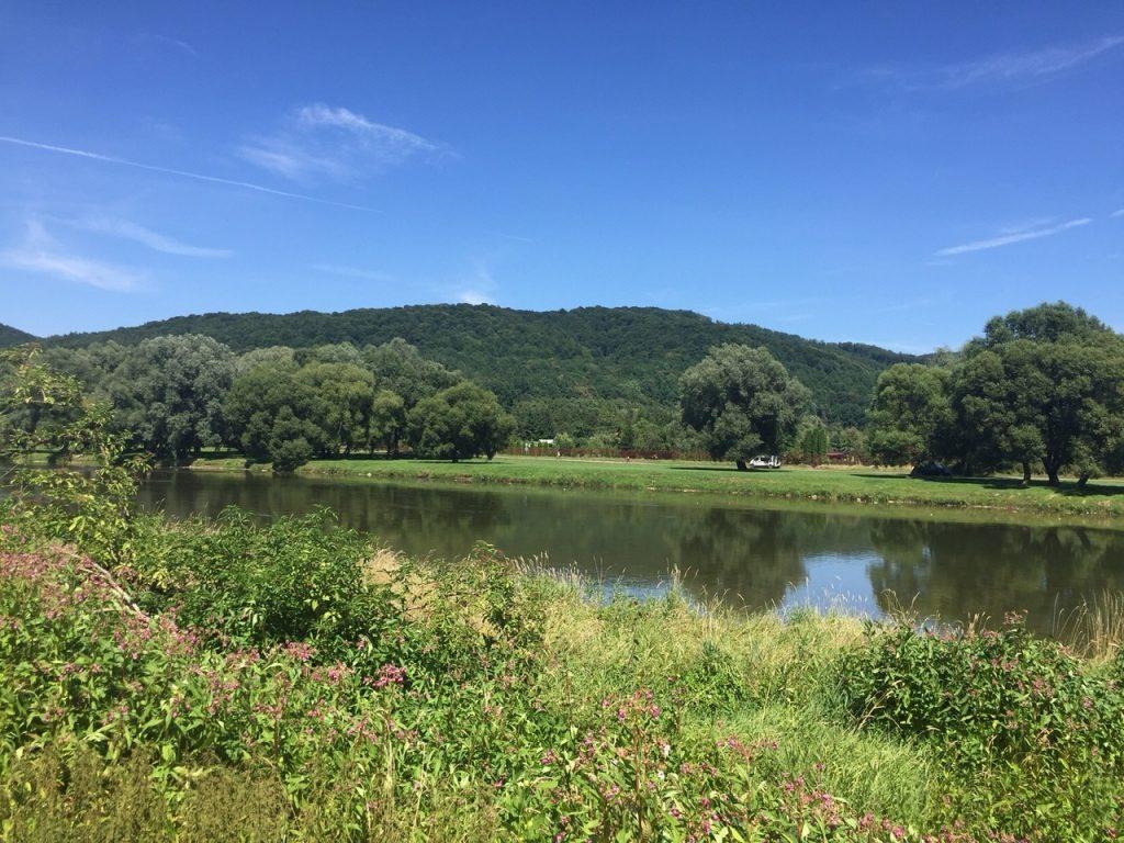 Sanok Bieszczady atrakcje rzeka San