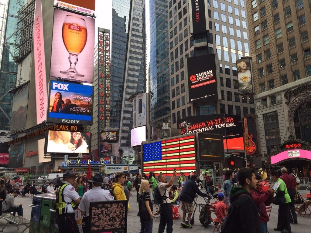 Nowy Jork USA Times Square