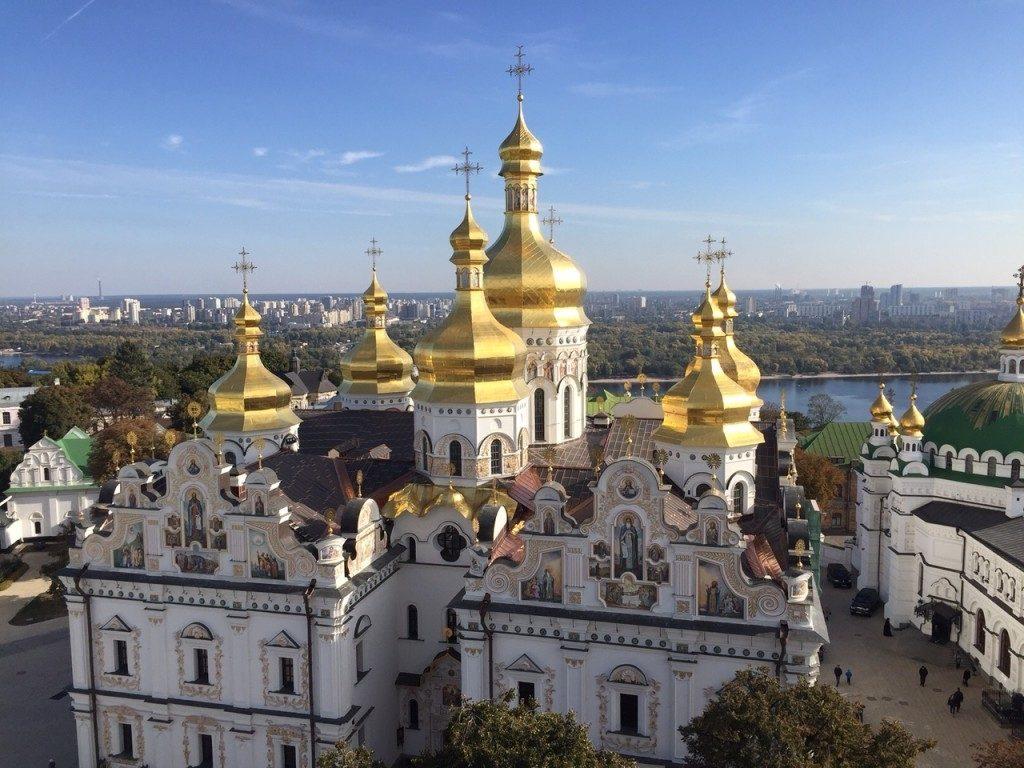 Ławra Peczerska Kijów atrakcje zwiedzanie