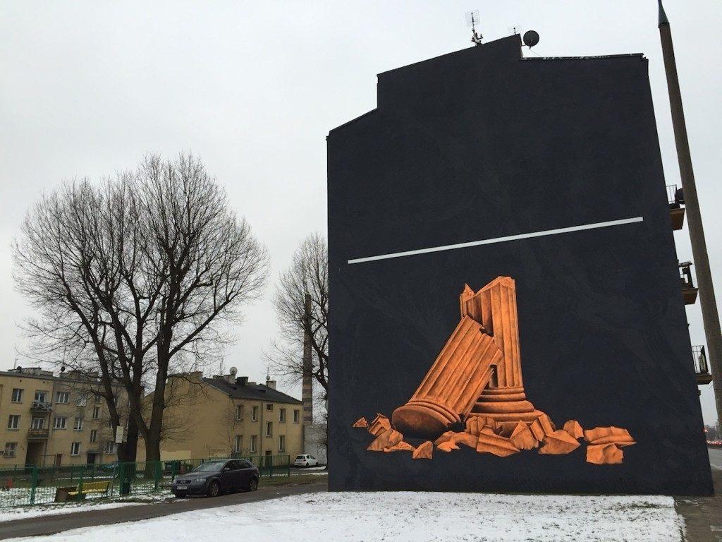 Warszawa murale