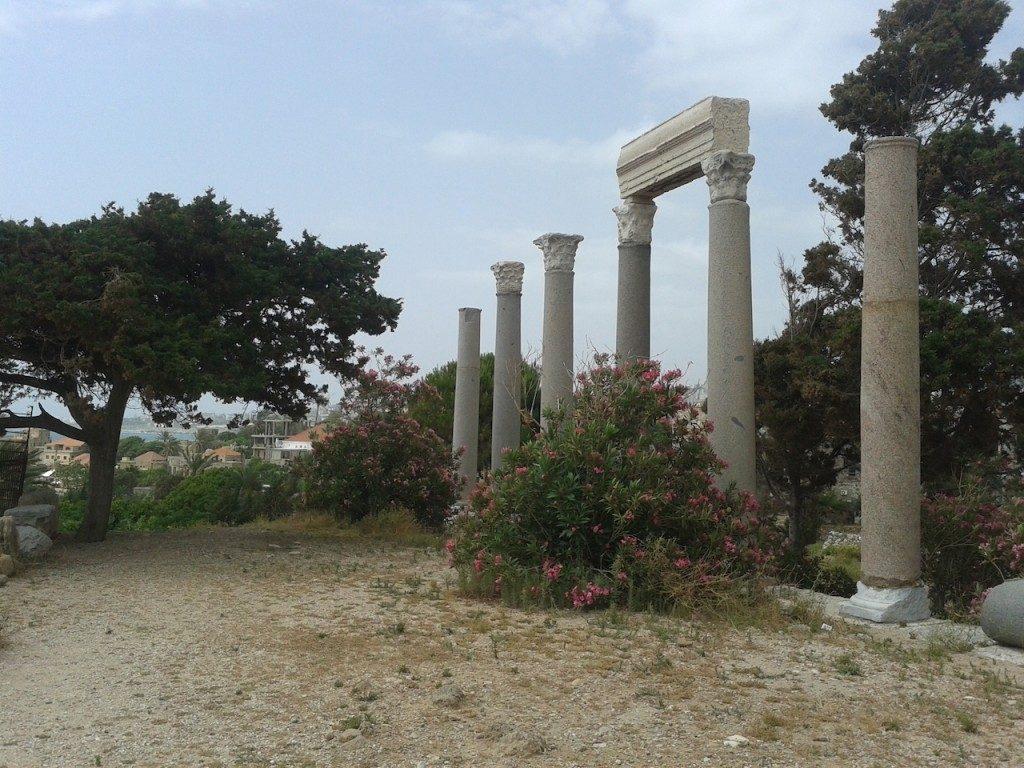 Liban Byblos zwiedzanie atrakcje