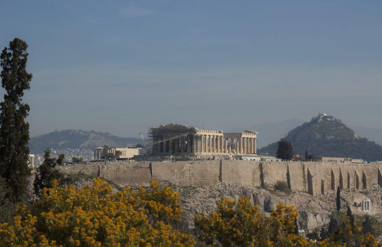 Akropolis Panteon Grecja Ateny zwiedzanie atrakcje