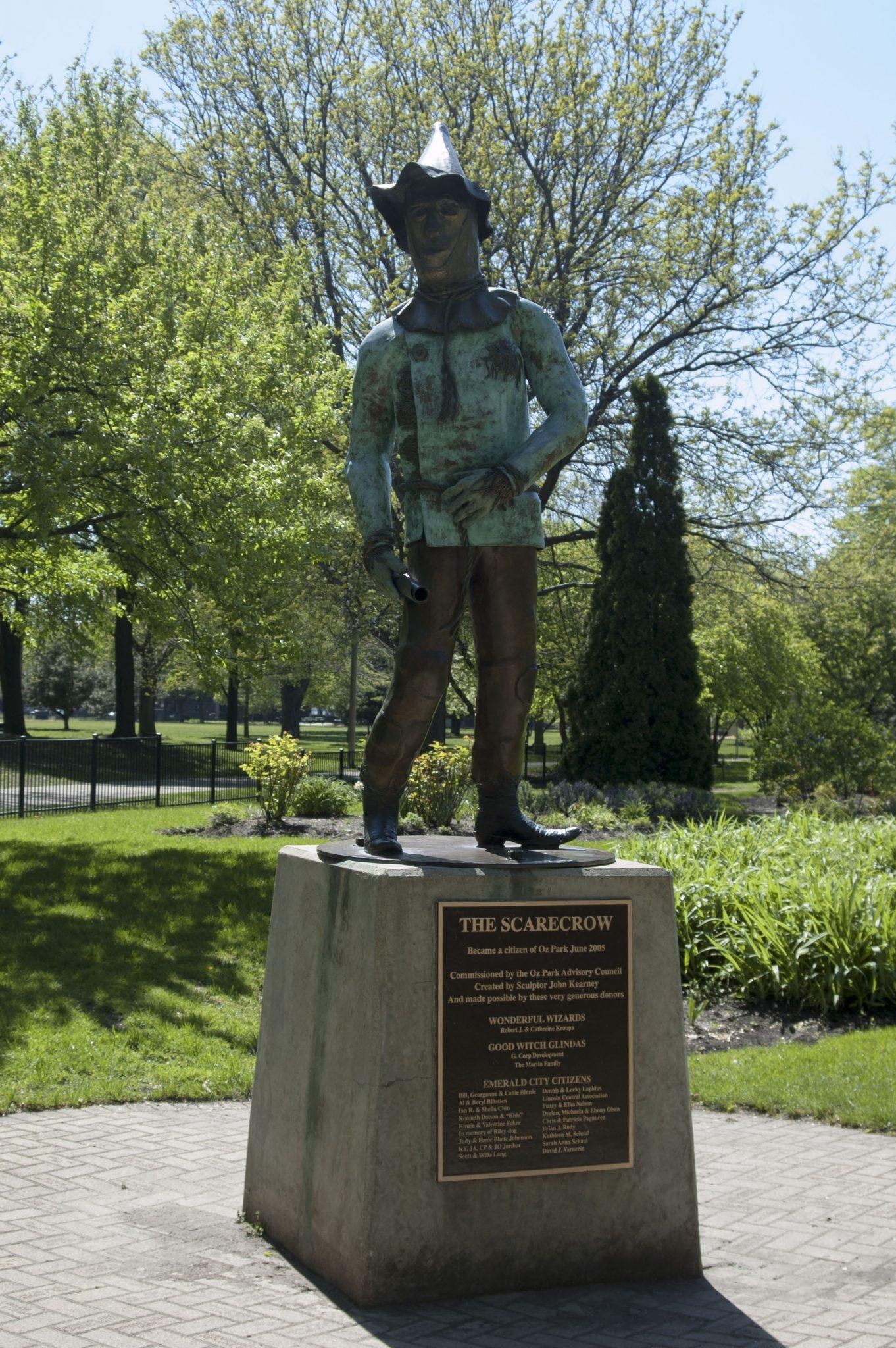 Oz Park Chicago Przewodnik po Chicago atrakcje zwiedzanie co zobaczyć