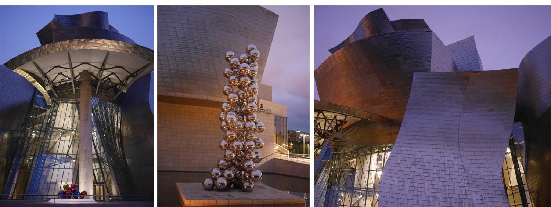 Bilbao Kraj Basków atrakcje zwiedzania Muzeum Guggneheima