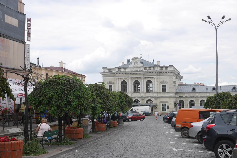 Przemyśl odnowiony dworzec kolejowy