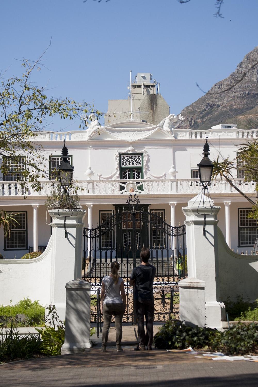 Kapsztad zwiedzanie RPA przewodnik atrakcje rezydencja prezydenta