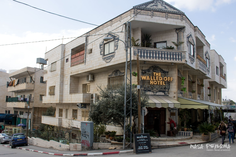 Betlejem Banksy hotel WalledOff