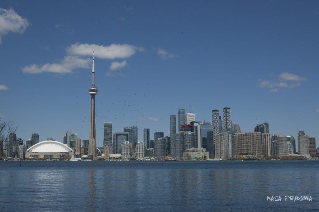 Toronto przewodnik atrakcje zwiedzanie panorama miasta
