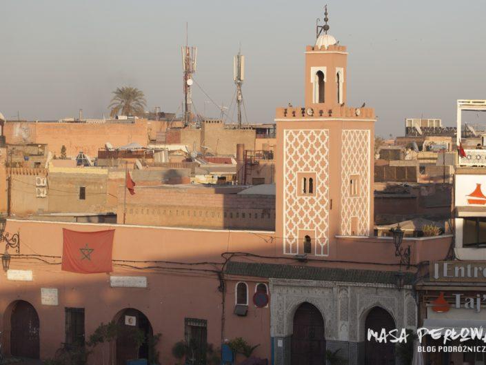Marrakesz Maroko Djemaa El Fna