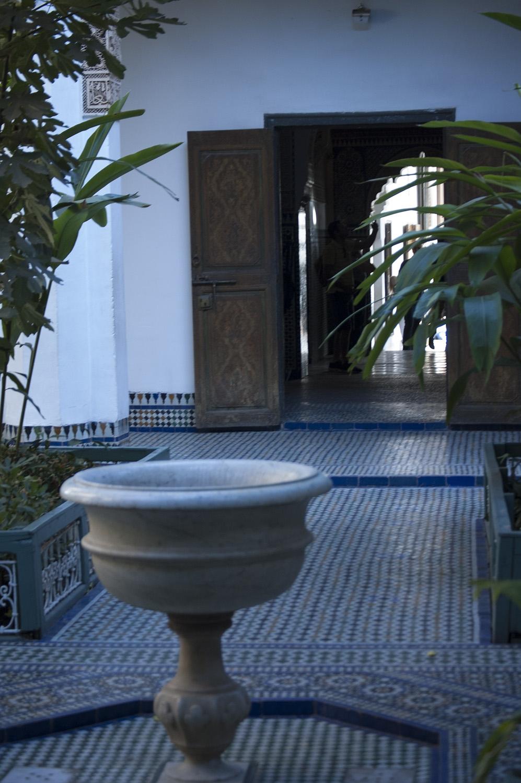 Marrakesz Maroko Pałac Bahia
