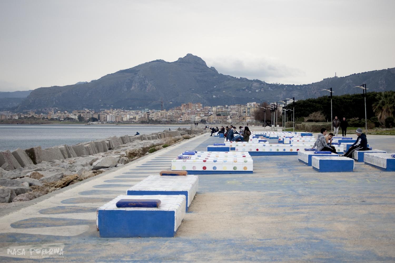 Palermo Sycylia morze