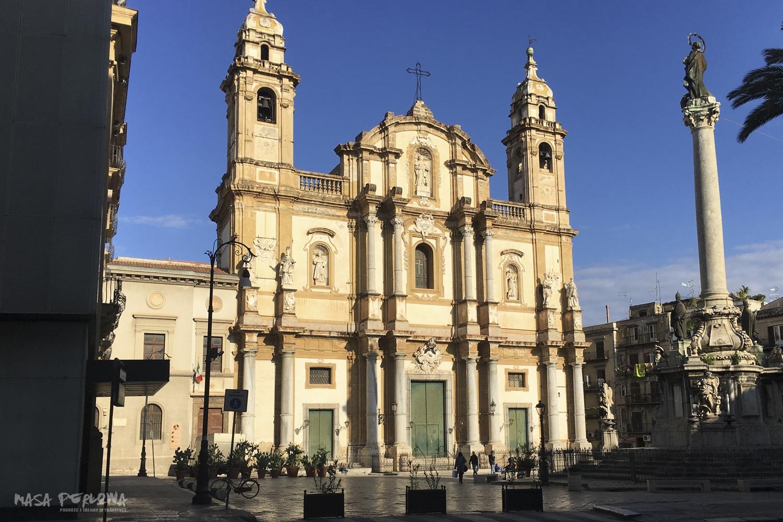 Palermo kościół św. Dominika