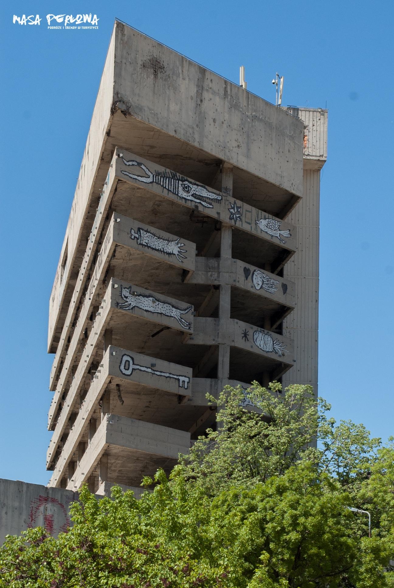 Mostar Wieża Snajpera