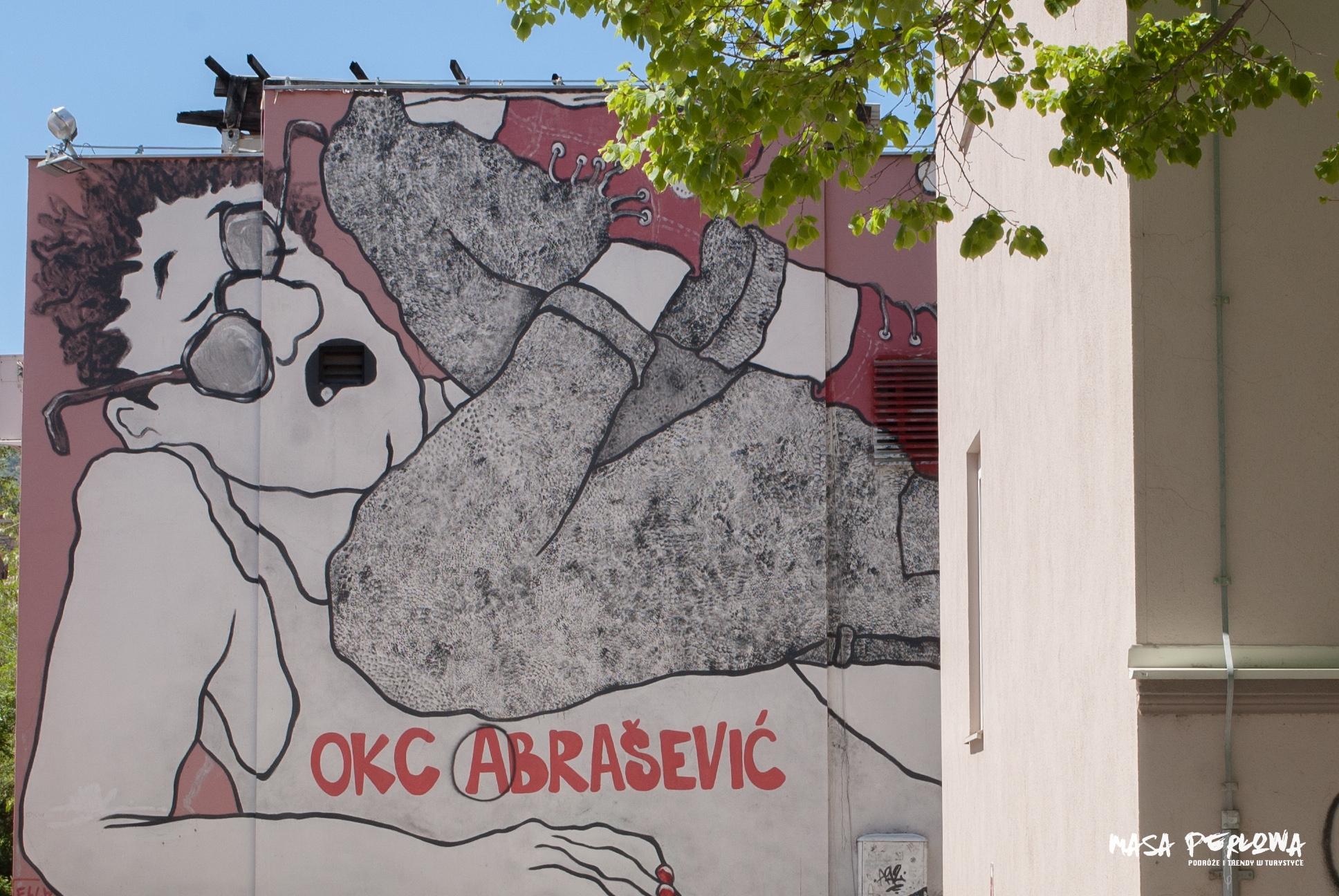 Mostar mural