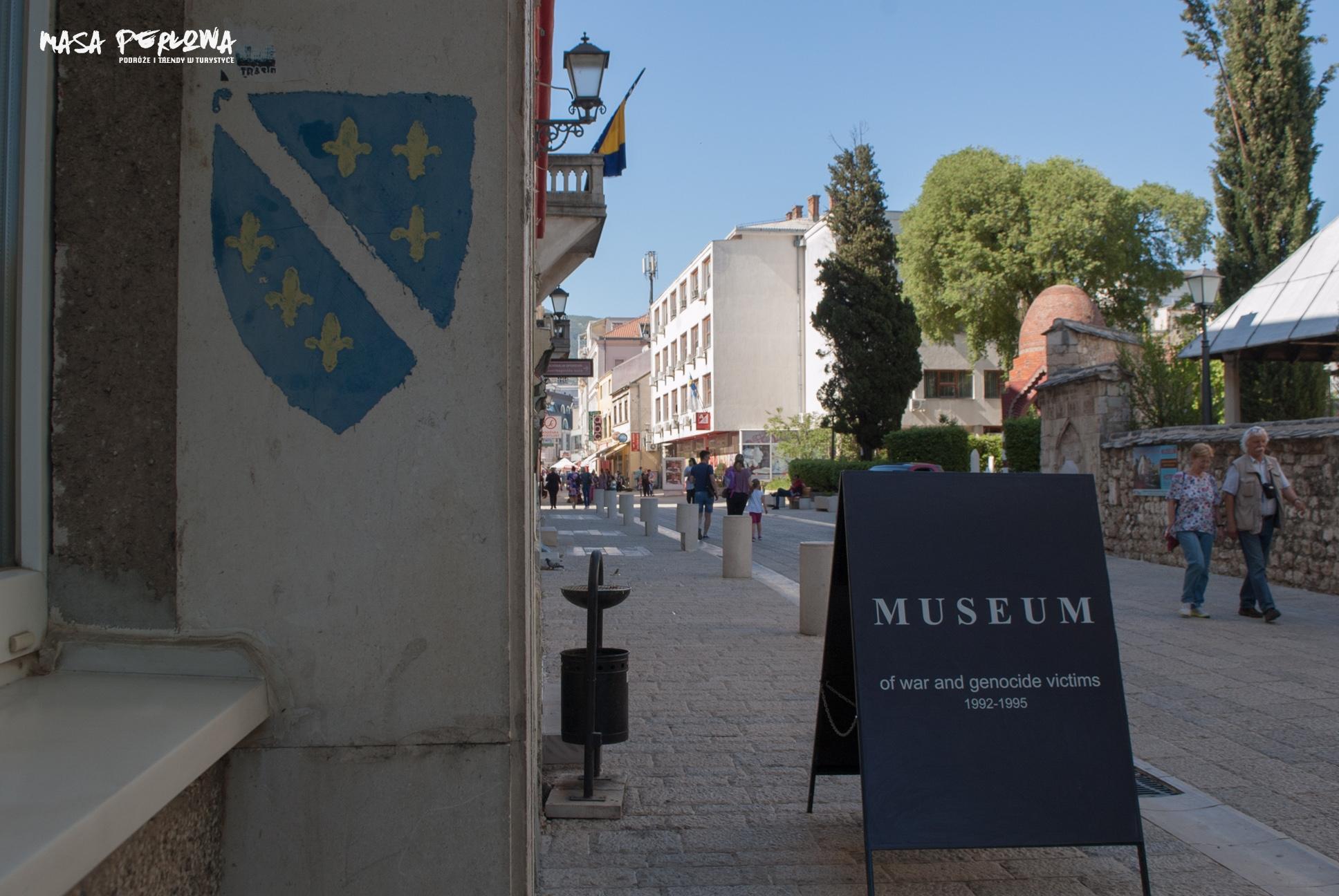 Mostar Muzeum Wojny i Ofiar Ludobójstwa