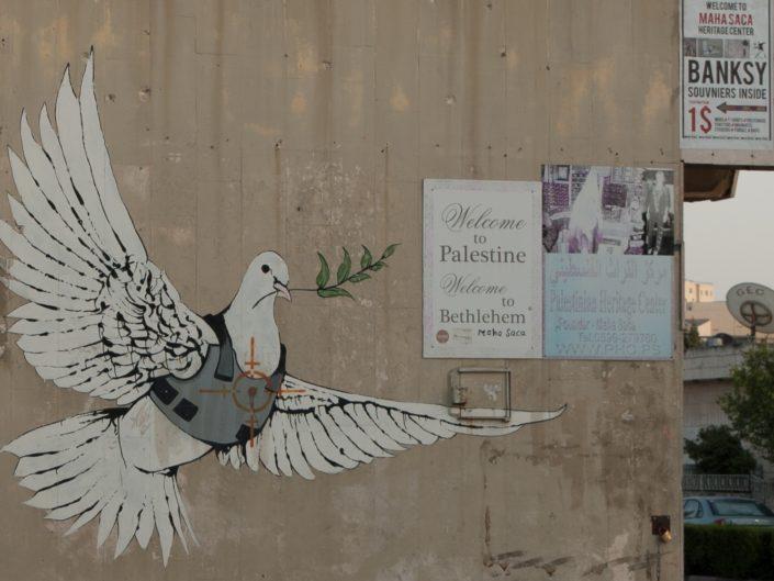 Betlejem Palestyna mural Banksy