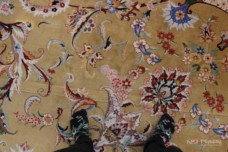 Abu Zabi wielki meczet dywan