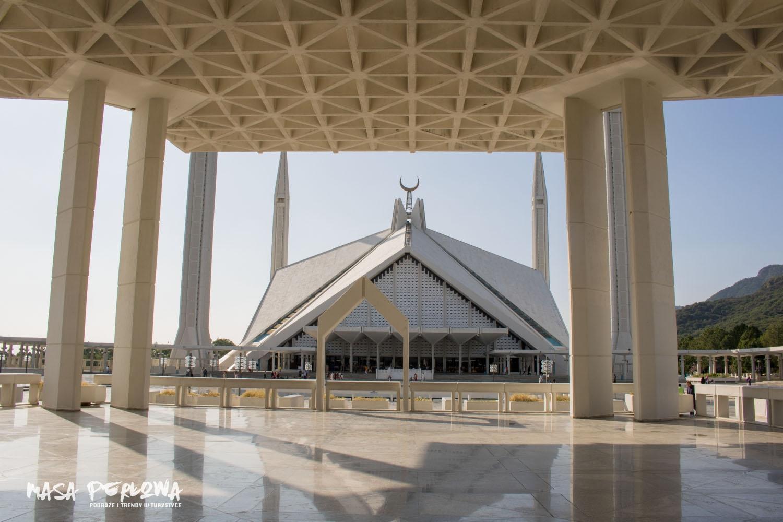 Islamabad meczet króla Faisala