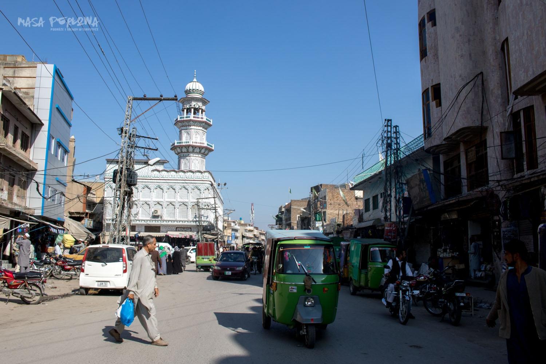 Rawalpindi Islamabad ulica meczet