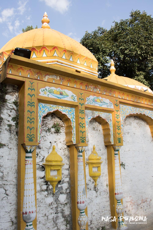 świątynia tradycyjna wioska Saidpur Pakistan Islamabad