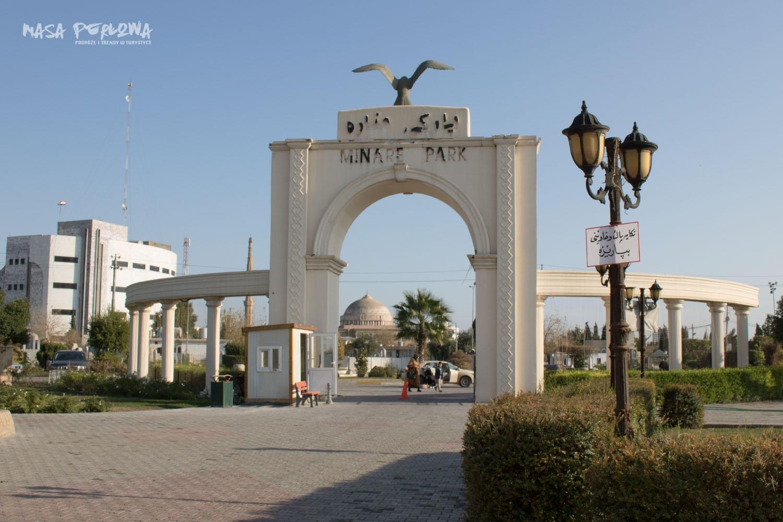 Irbil Minaret Park Irak Kurdystan