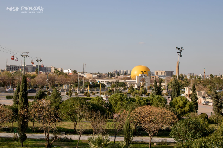 Irbil park Minaret Park Irak Kurdystan
