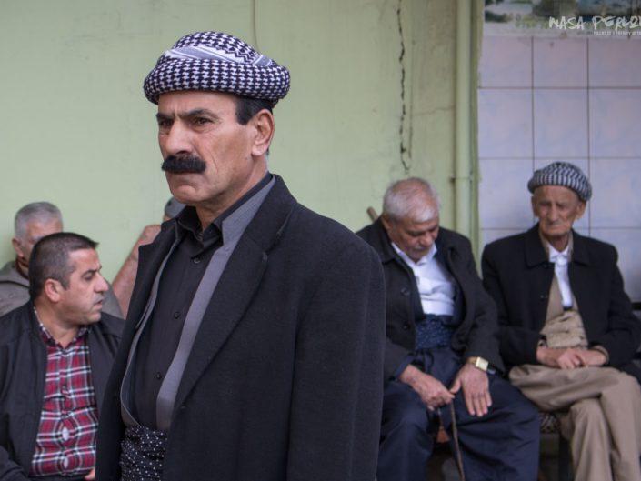 Duhok Irak Kurdystan tradycyjny stroj
