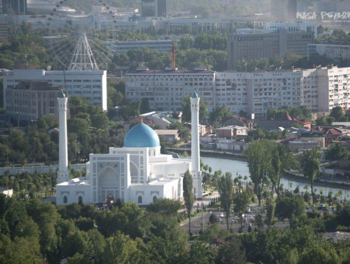 Biały Meczet Taszkient Uzbekistan