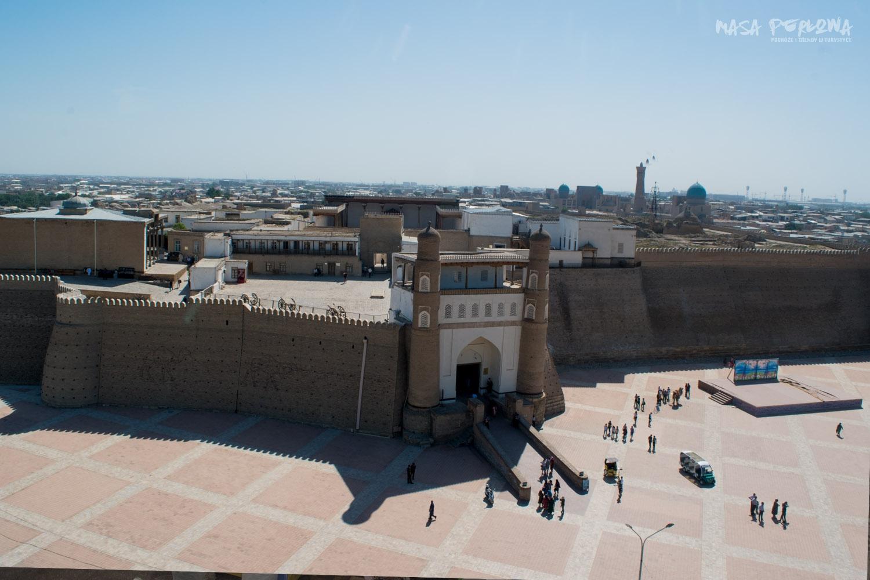 Cytadela Arka Buchara Uzbekistan