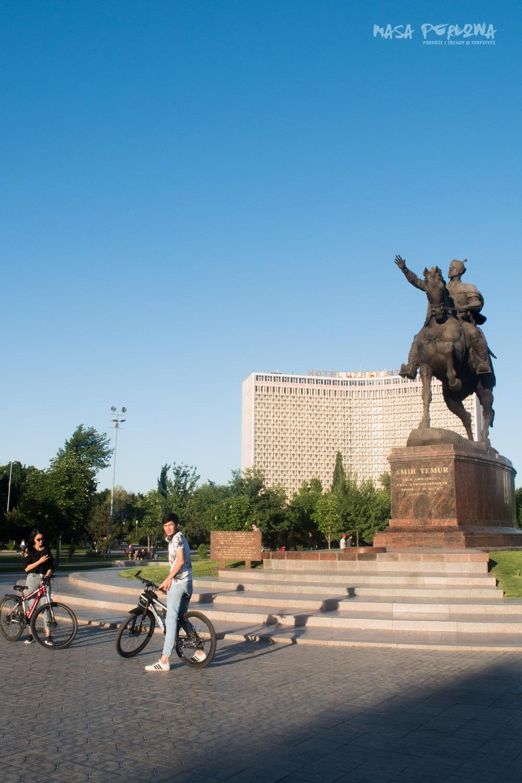 Timur Pomnik Taszkient plac Uzbekistan