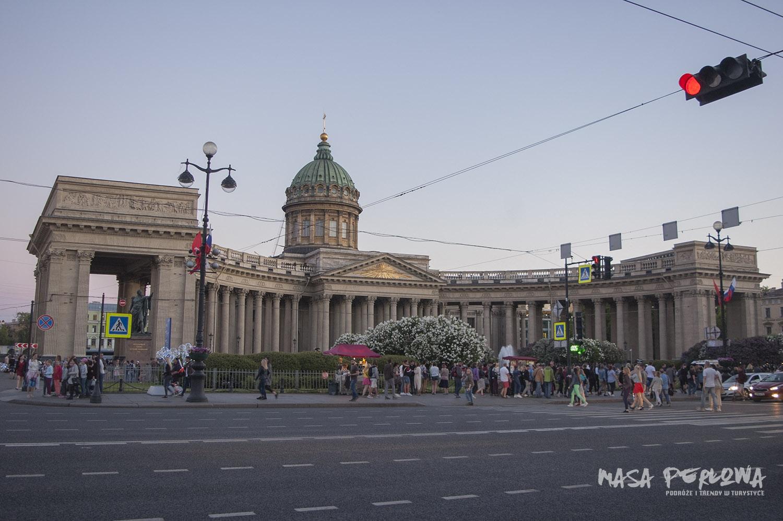 Sankt Petersburg Sobór Kazański