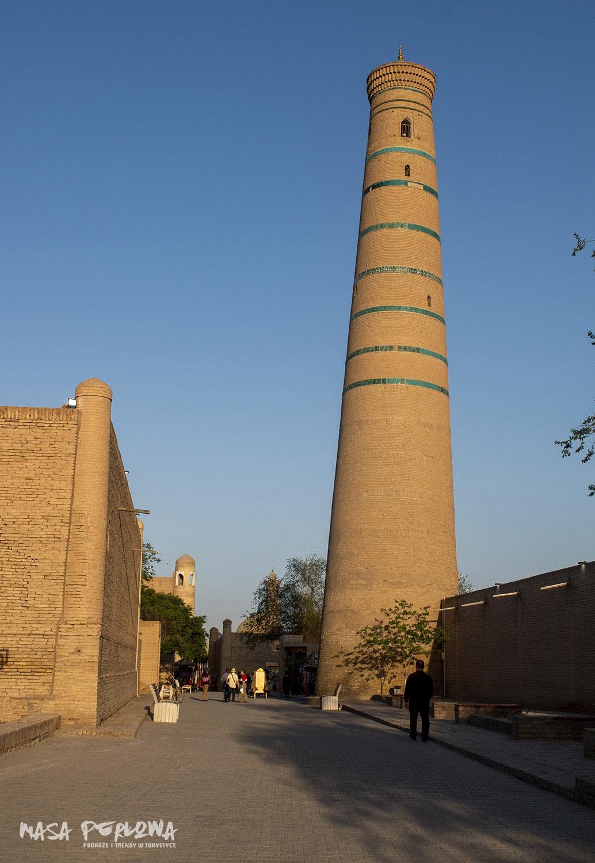 Minaret Islom-Khoja Chiwa Uzbekistan